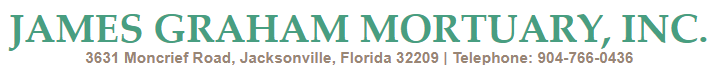 James Graham Mortuary, Inc. | Jacksonville, Florida | 904-766-0436